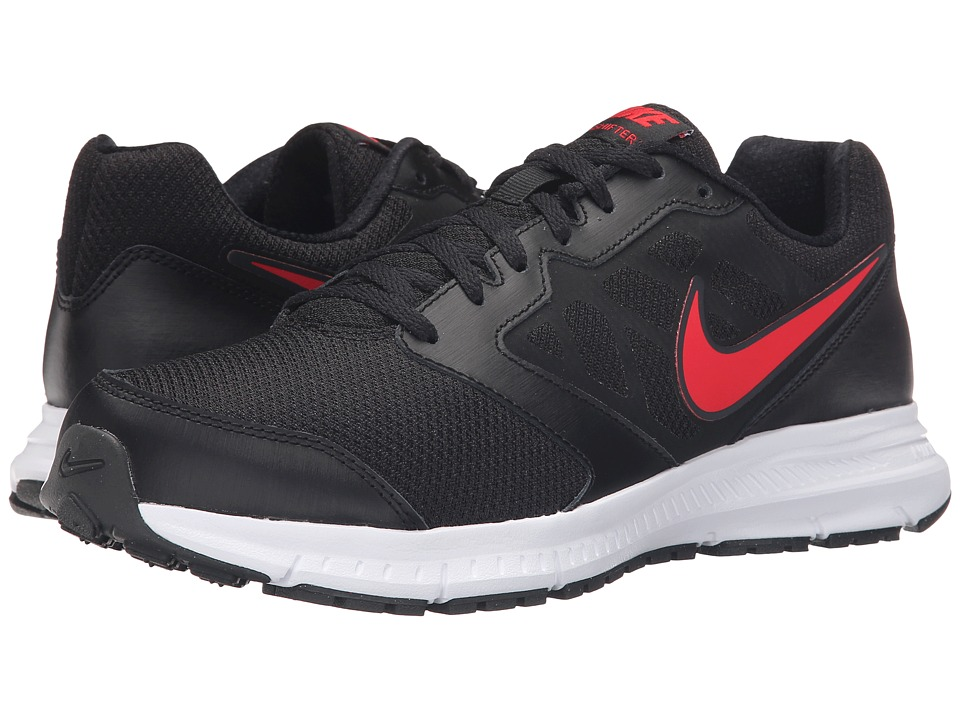 Nike - Downshifter 6 (Black/Anthracite/White/University Red) Men's Running Shoes