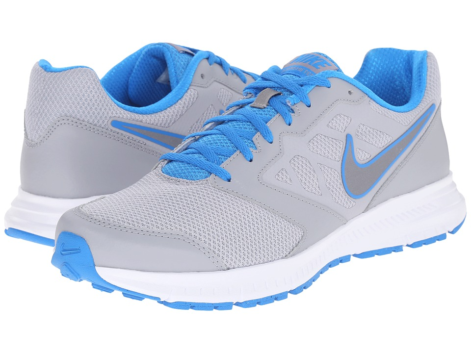 Nike - Downshifter 6 (Wolf Grey/Photo Blue/White/MTLC Cool Grey) Men's Running Shoes