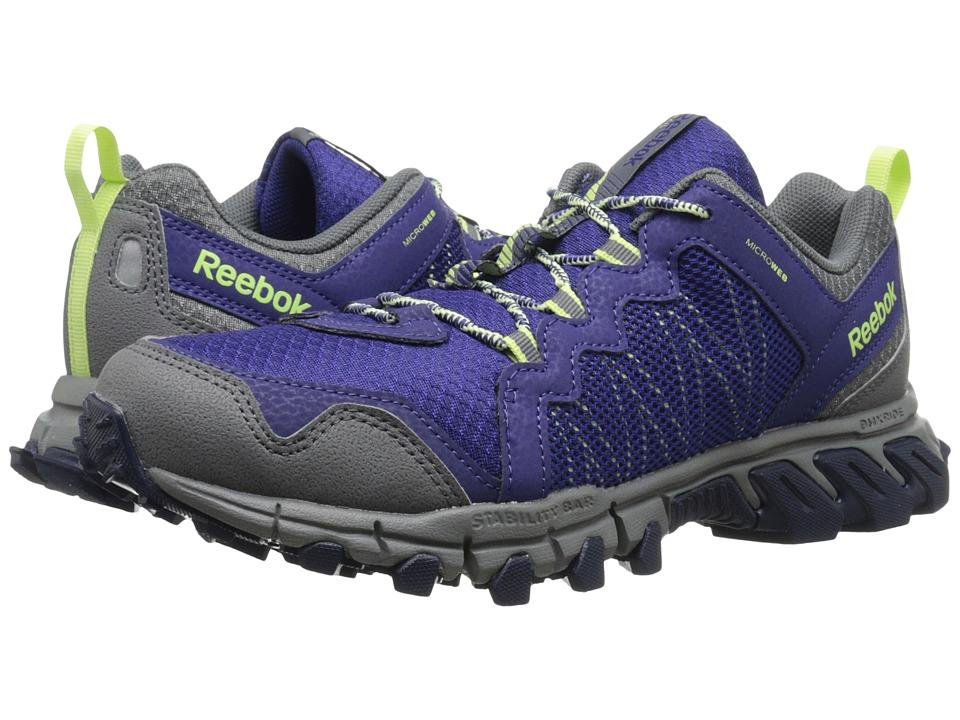 Reebok - Trailgrip RS 4.0 (Night Beacon/Alloy/Collegiate Navy/Luminous Lime) Women