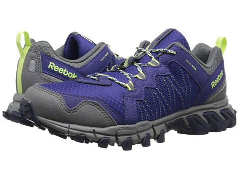 Reebok - Trailgrip RS 4.0 (Night Beacon/Alloy/Collegiate Navy/Luminous Lime) Women