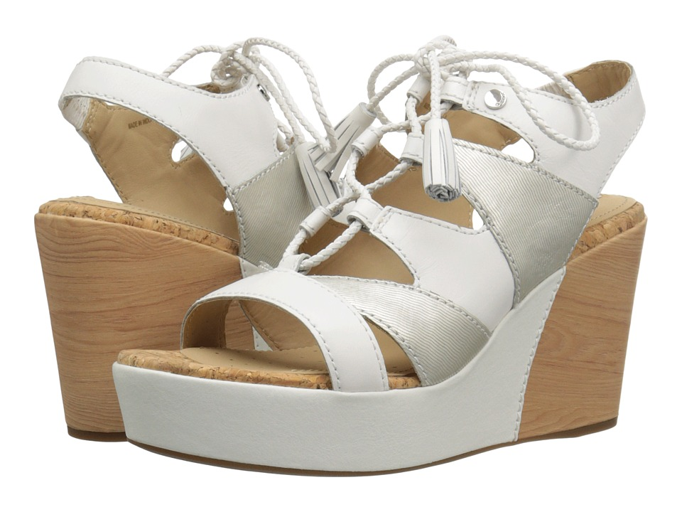 Geox WJALEAH3 (White/Off-White) Women