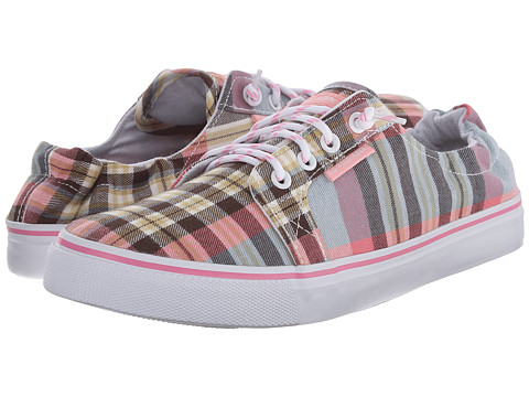 U.S. POLO ASSN. - Arya (Strawberry/Sky Blue Plaid) Women's Shoes