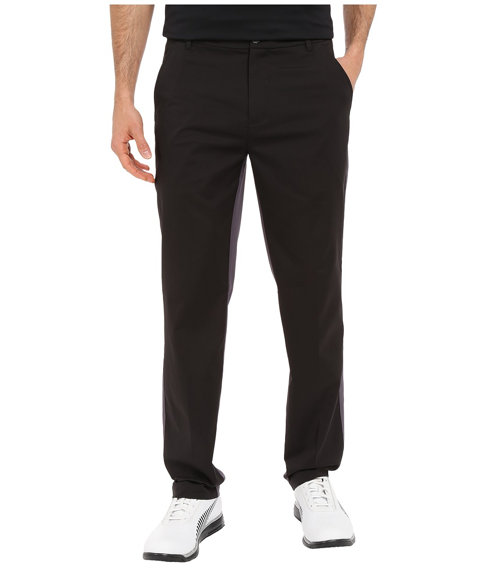 PUMA Golf - Tailored Elevation Pants (Black/Periscope) Men's Casual Pants