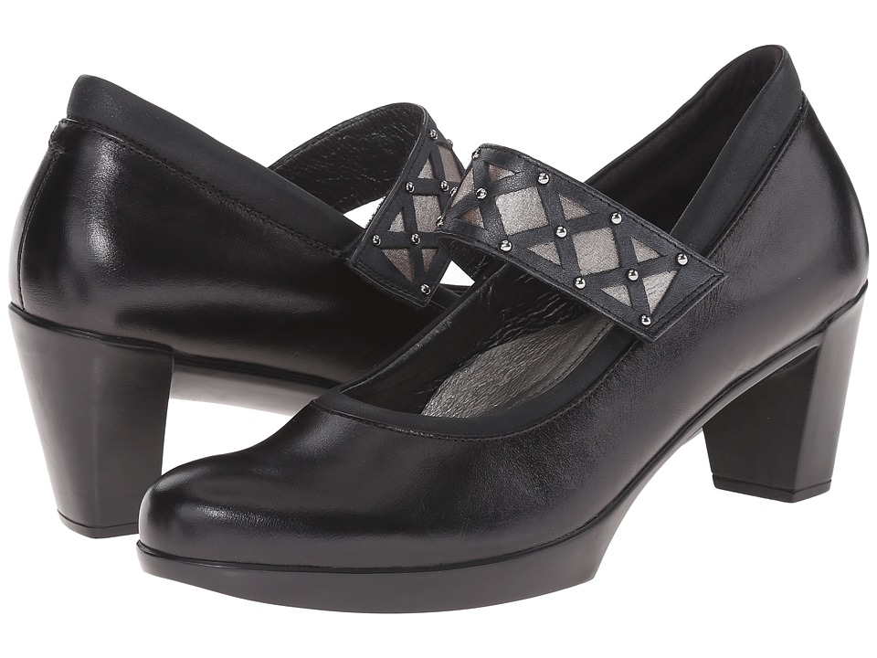 Naot Footwear - Corallo (Black Leather Combo) Women