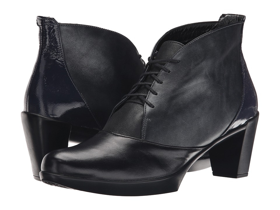 Naot Footwear - Granto (Black Leather Combo) Women