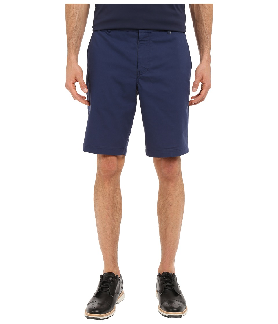 Nike Golf - Modern Fit Washed Shorts (Midnight Navy/Midnight Navy/University Red/Wolf Grey) Men's Shorts