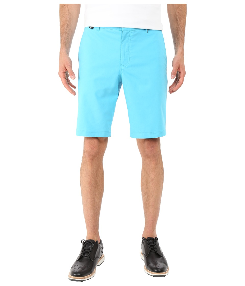 Nike Golf - Modern Fit Washed Shorts (Omega Blue/Midnight Navy/Varsity Maize/Wolf Grey) Men's Shorts