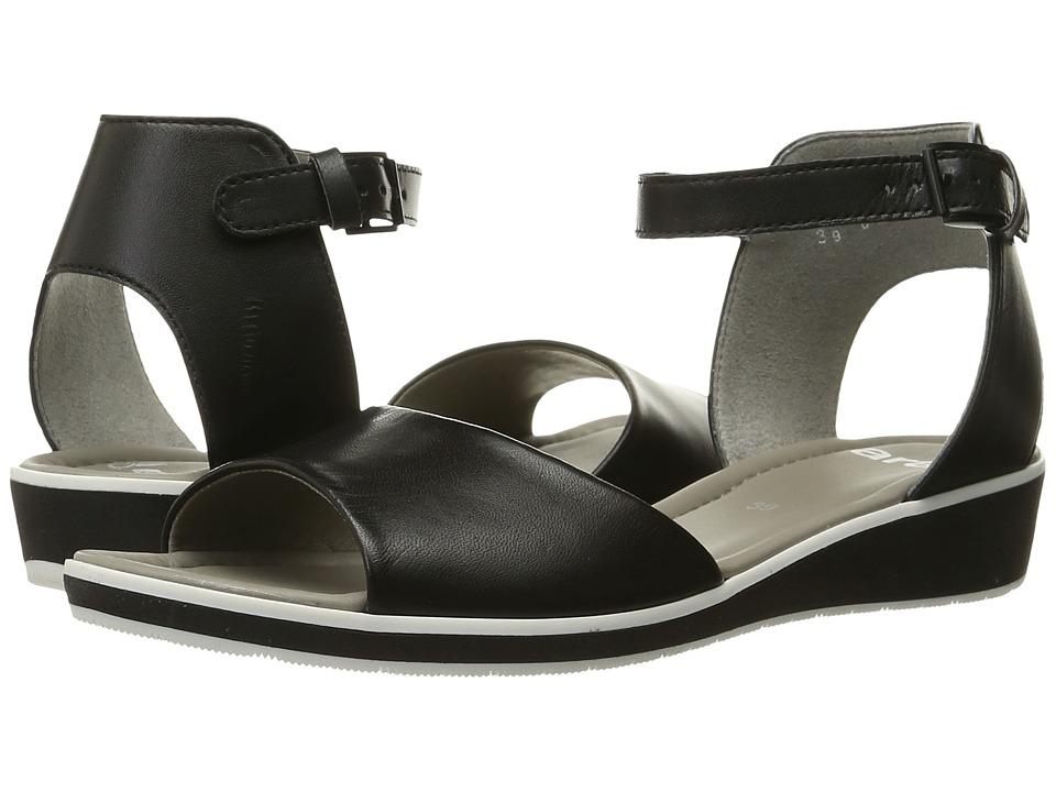ara - Lidia (Black Nappa) Women's Sandals