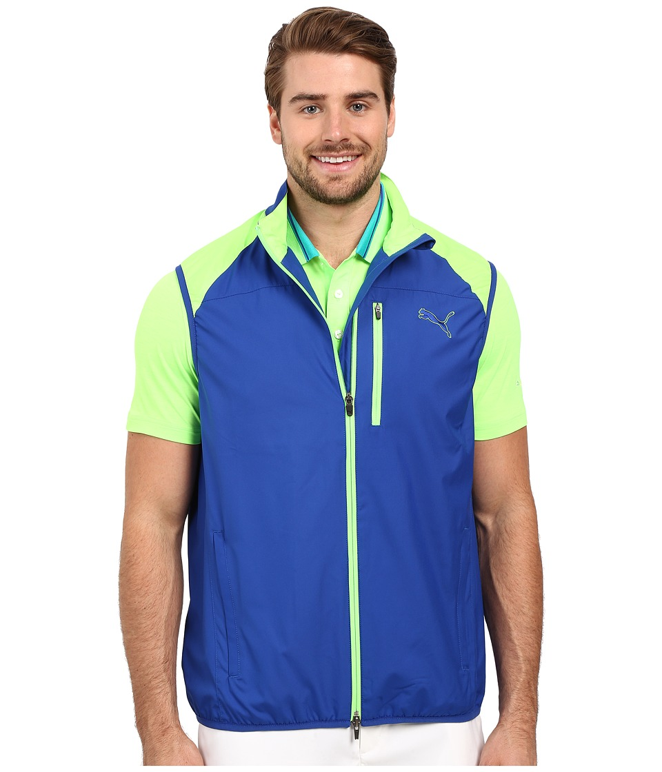 PUMA Golf - Wind Vest (Surf The Web) Men's Vest