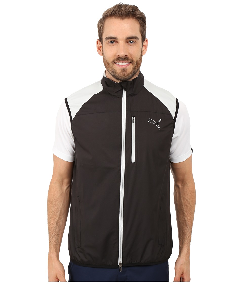 PUMA Golf - Wind Vest (Black) Men's Vest