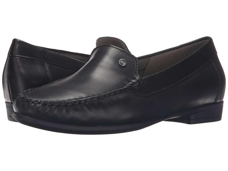 ara - Barb (Black Nappa) Women's Slip on Shoes