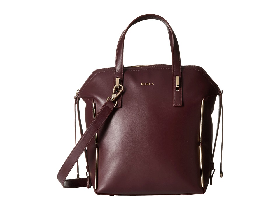 Furla - Dandy Medium Dome North/South (Barolo) Handbags