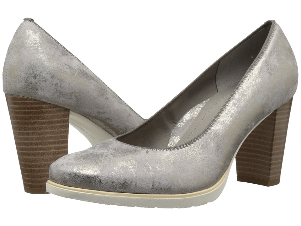 ara - Taleah (Grey Metallic Suede) Women's Shoes