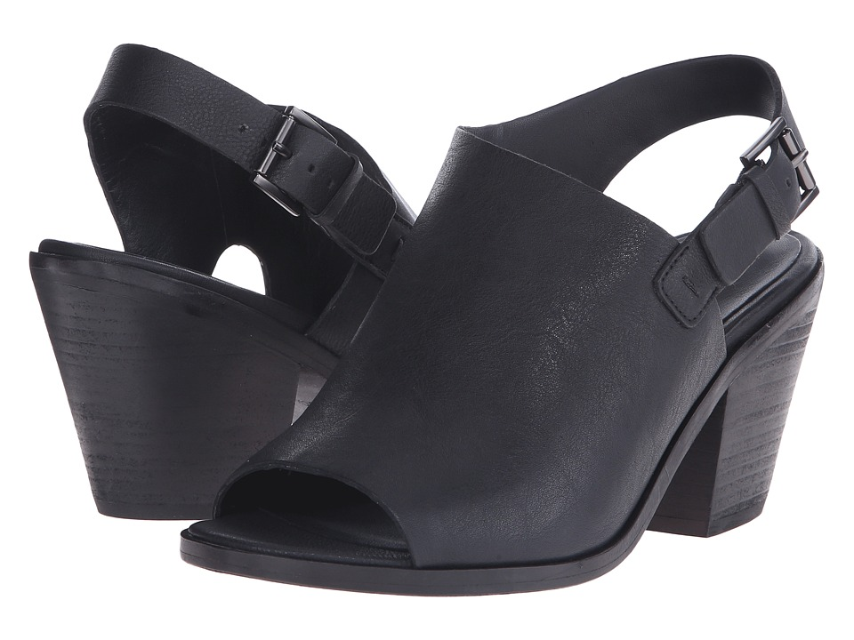 Eileen Fisher - Glance (Black Leather) High Heels