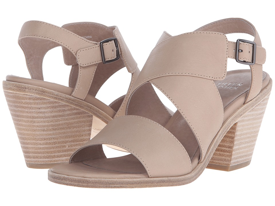 Eileen Fisher - Carat (Sand Soft Leather) High Heels