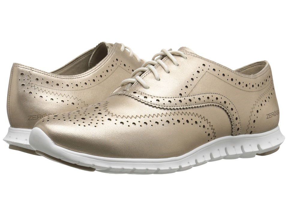 Cole Haan - Zerogrand Wing Oxford (Gold Metallic) Women's Shoes