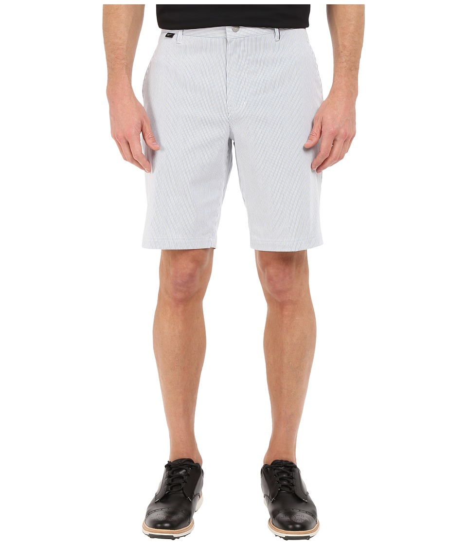 Nike Golf - Modern Fit Seersucker Shorts (Ocean Fog/White/Midnight Navy/Wolf Grey) Men