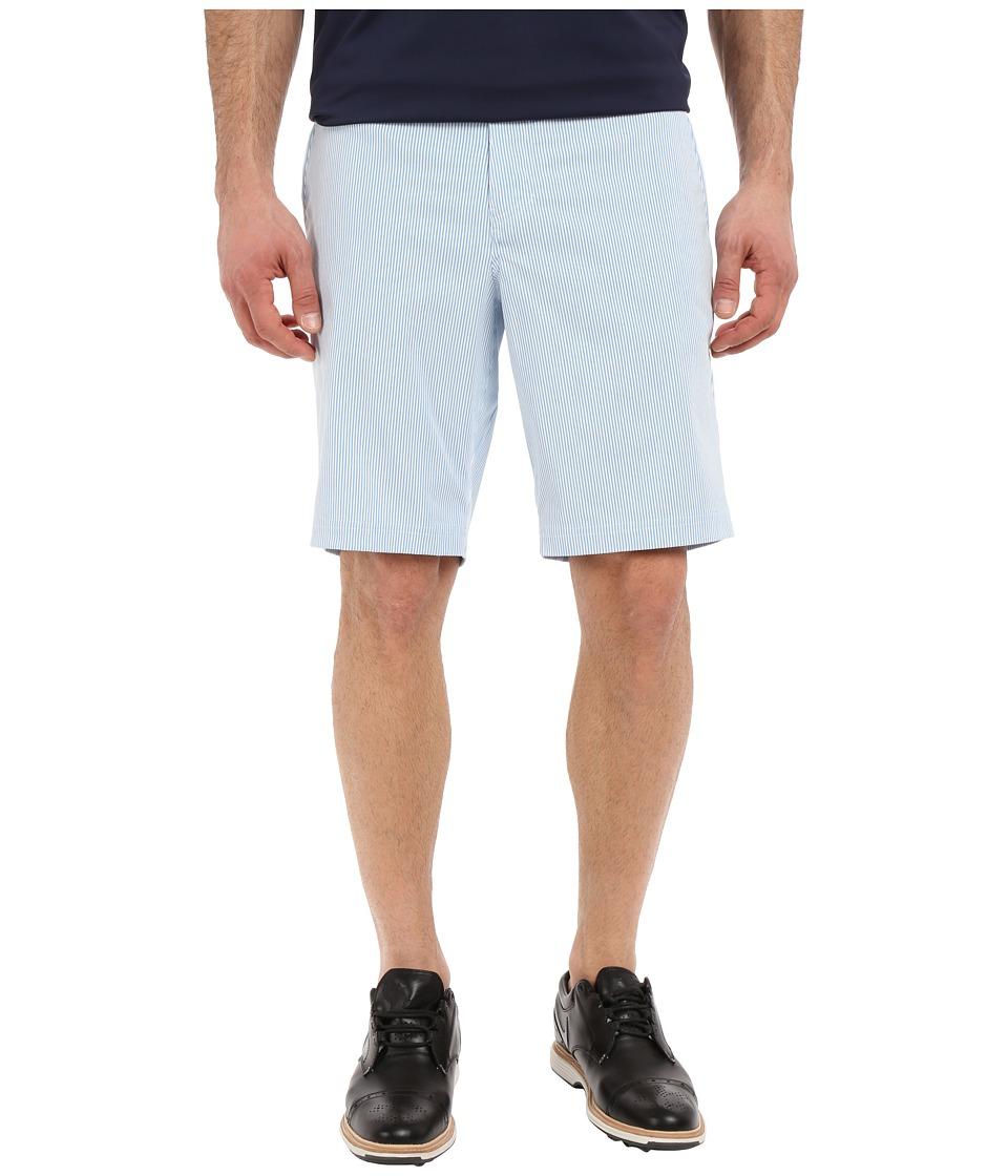 Nike Golf - Modern Fit Seersucker Shorts (Photo Blue/White/Midnight Navy/Wolf Grey) Men's Shorts