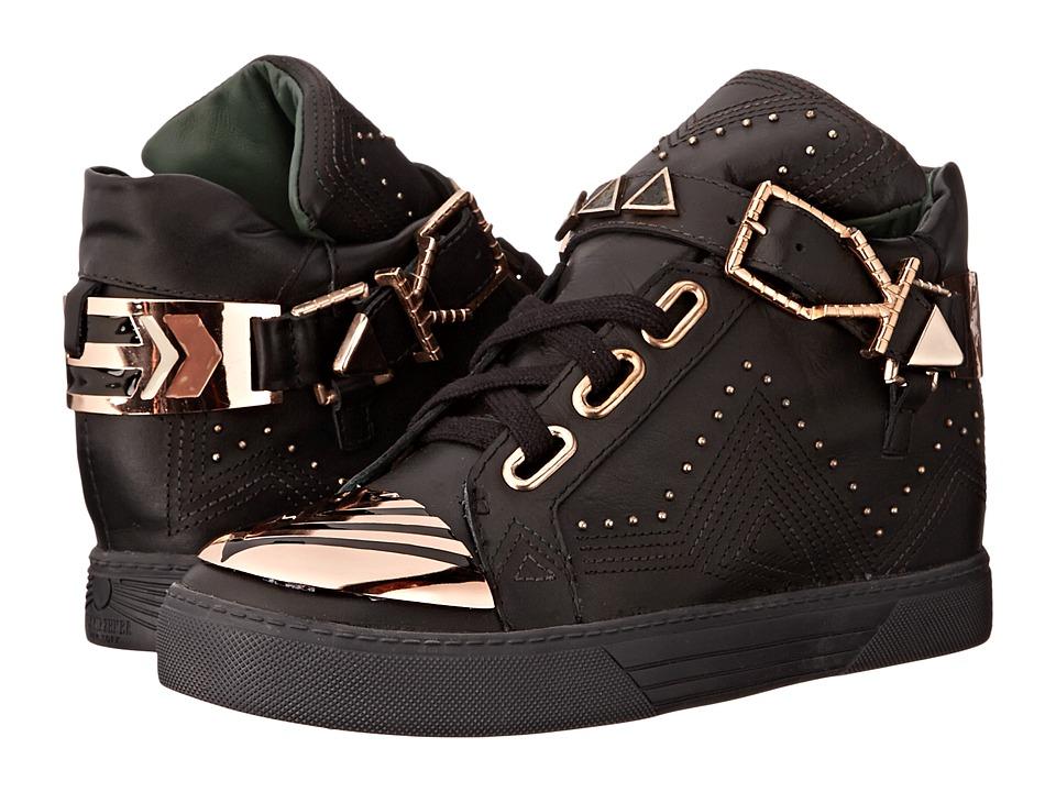 IVY KIRZHNER - Lunar (Black/Forest) Women's Lace up casual Shoes