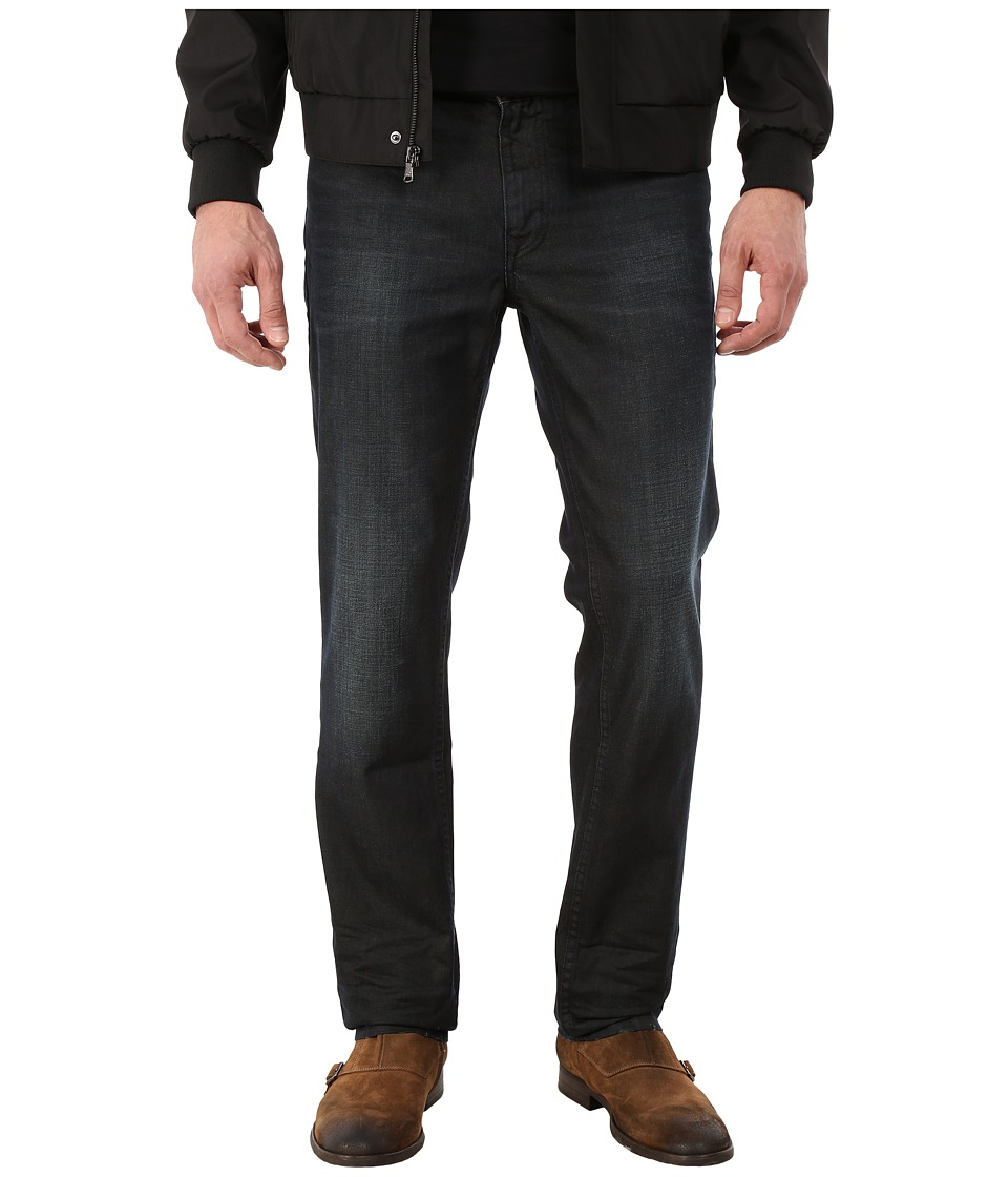 Calvin Klein Jeans - Velocity Black Slim Denim Straight (Velocity Black Denim) Men's Jeans