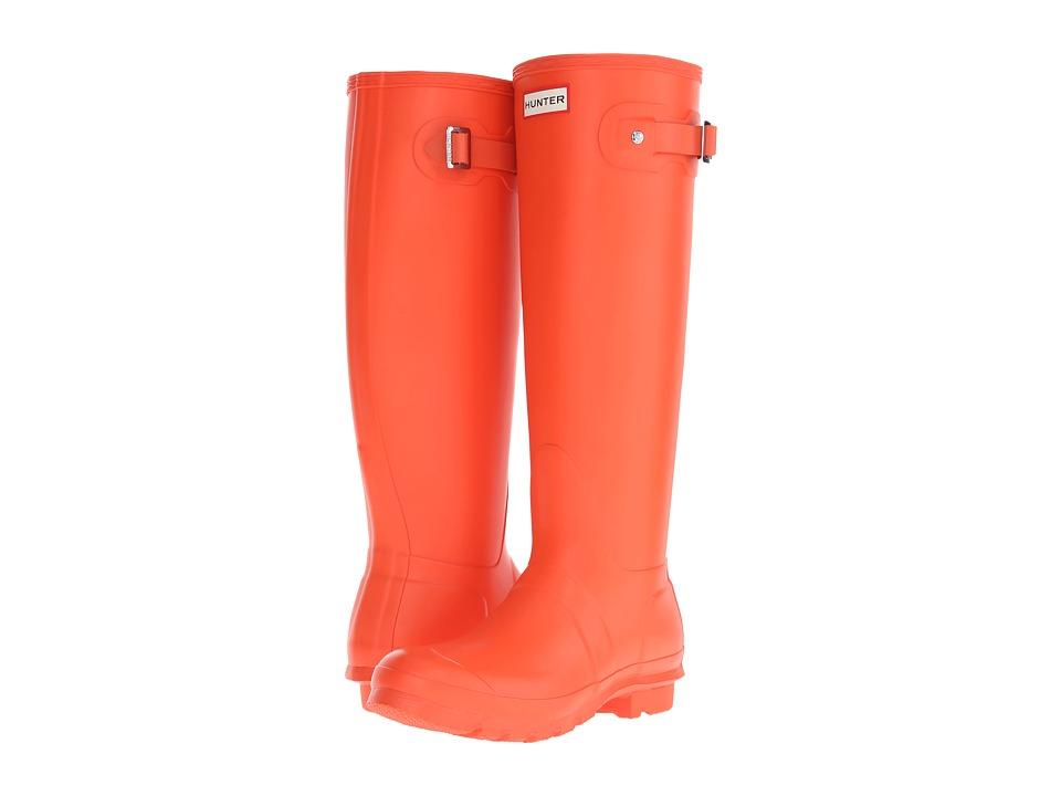 Hunter - Original Tall (Tent Red) Women's Rain Boots