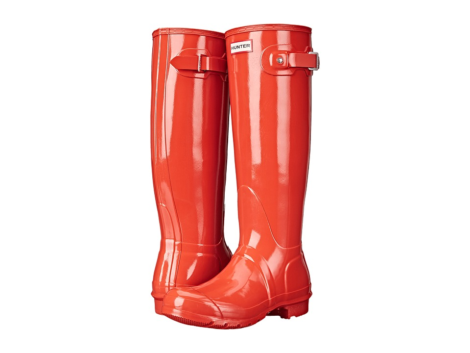 Hunter - Original Gloss (Tent Red) Women's Rain Boots