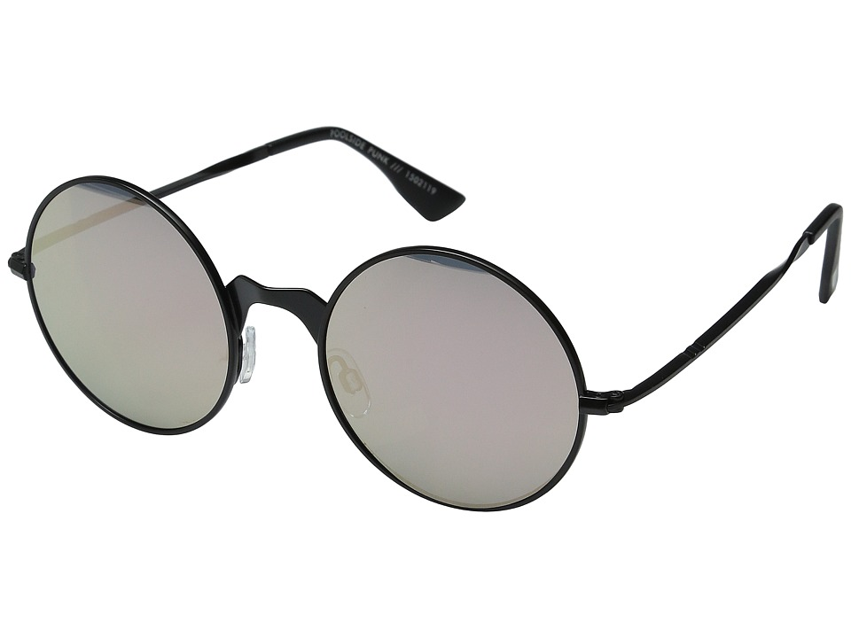 Le Specs - Poolside Punk (Matte Black) Fashion Sunglasses