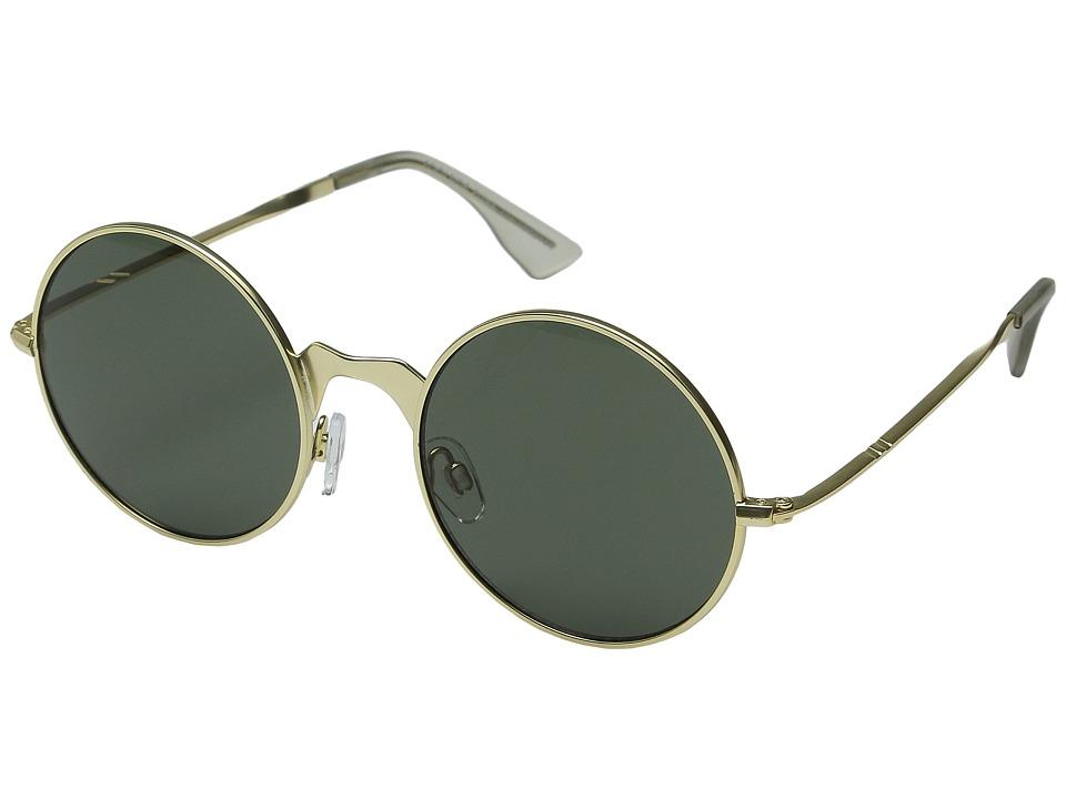 Le Specs - Poolside Punk (Brushed Gold) Fashion Sunglasses
