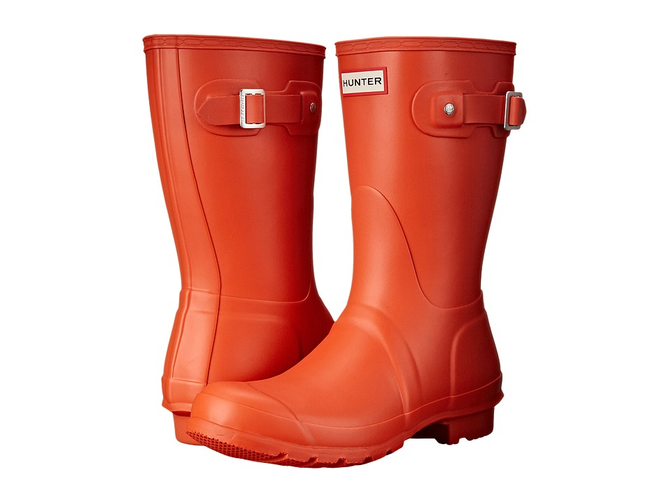 Hunter - Original Short (Tent Red) Women's Rain Boots