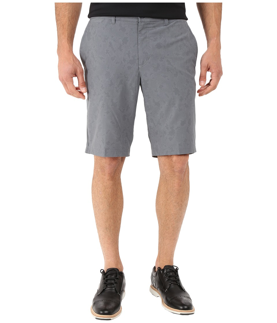 Nike Golf - Print Shorts (Dark Grey/Dark Grey/Wolf Grey) Men's Shorts