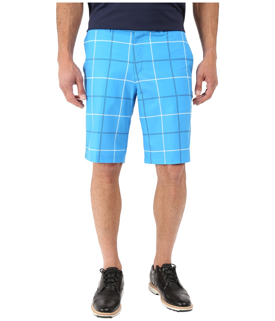 Nike Golf - Print Shorts (Photo Blue/Dark Grey/Wolf Grey) Men's Shorts ...