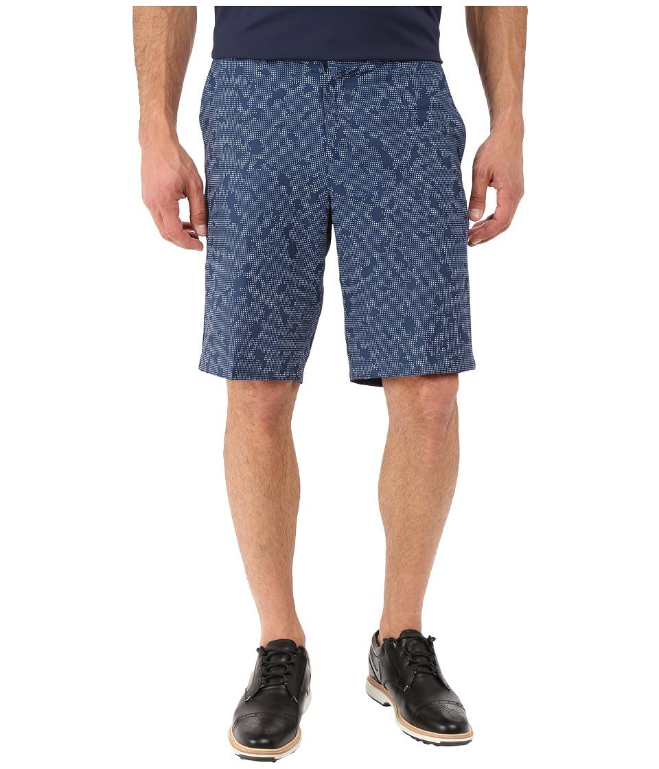 Nike Golf - Print Shorts (Midnight Navy/Dark Grey/Wolf Grey) Men's Shorts