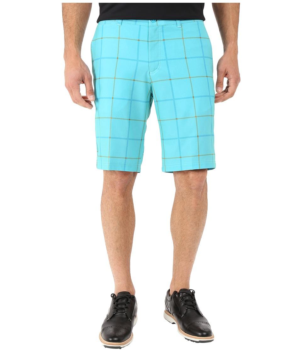 Nike Golf - Print Shorts (Beta Blue/Dark Grey/Wolf Grey) Men's Shorts
