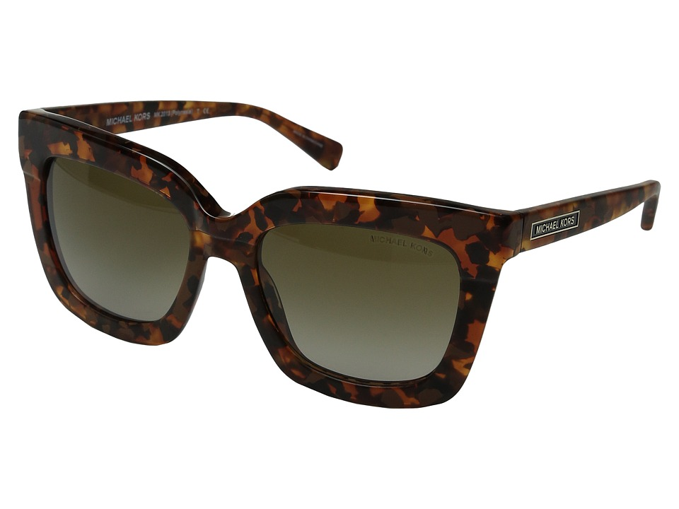 Michael Kors - Polynesia (Brown Tortoise) Fashion Sunglasses