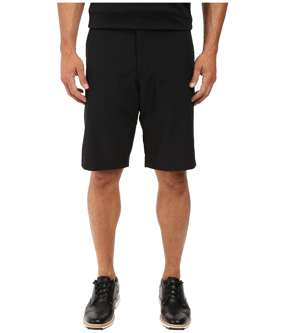 Nike Golf - Flat Front Stretch Woven Shorts (Black/Dark Grey/Wolf Grey) Men's Shorts