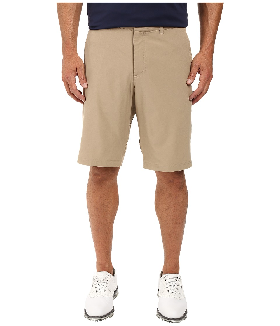 Nike Golf - Flat Front Stretch Woven Shorts (Khaki/Dark Grey/Wolf Grey) Men's Shorts