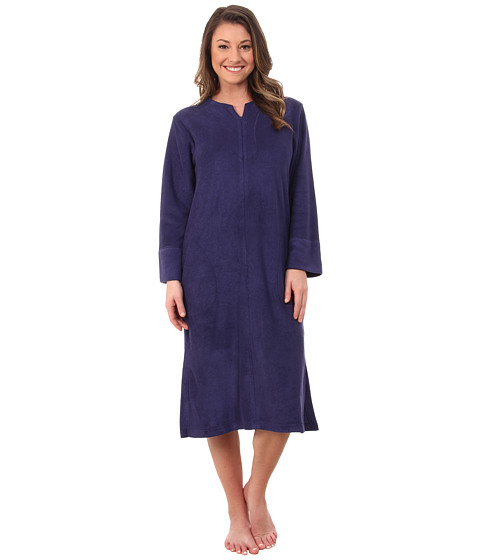 N by Natori - Zip Caftan (Astor Blue 1) Women