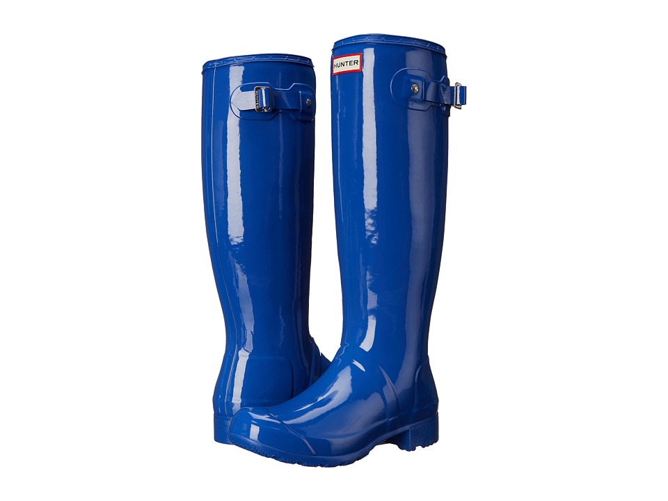Hunter - Original Tour Gloss (Bright Cobalt) Women's Rain Boots