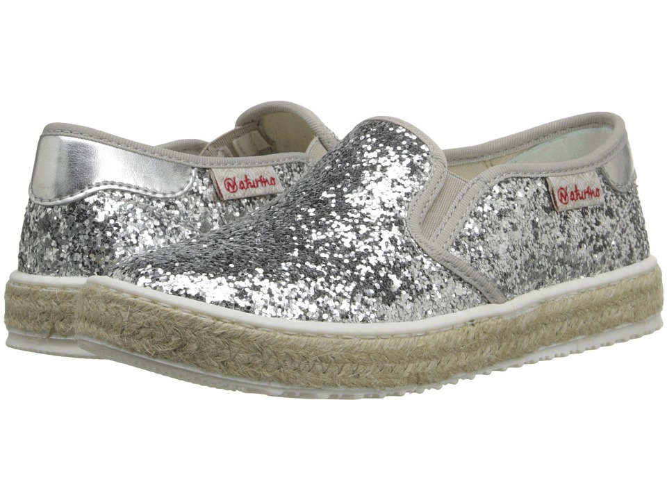 Naturino - Nat. 8089 SS16 (Toddler/Little Kid/Big Kid) (Silver) Girls Shoes