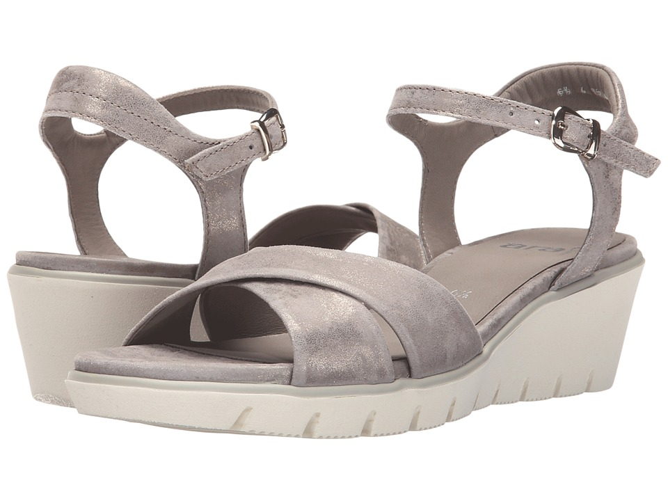 ara Melina (Grey Metallic Suede) Women