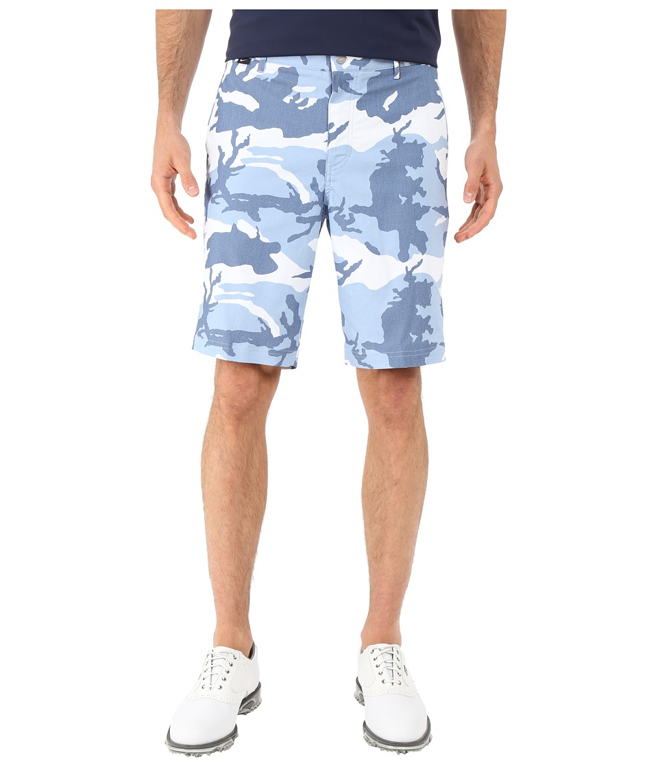 Nike Golf - Modern Fit Print Shorts (Ocean Fog/Blue Grey/Ocean Fog/Wolf Grey) Men's Shorts