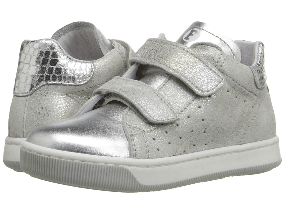 Naturino - Falcotto Smith VL SS16 (Toddler) (Silver) Girls Shoes