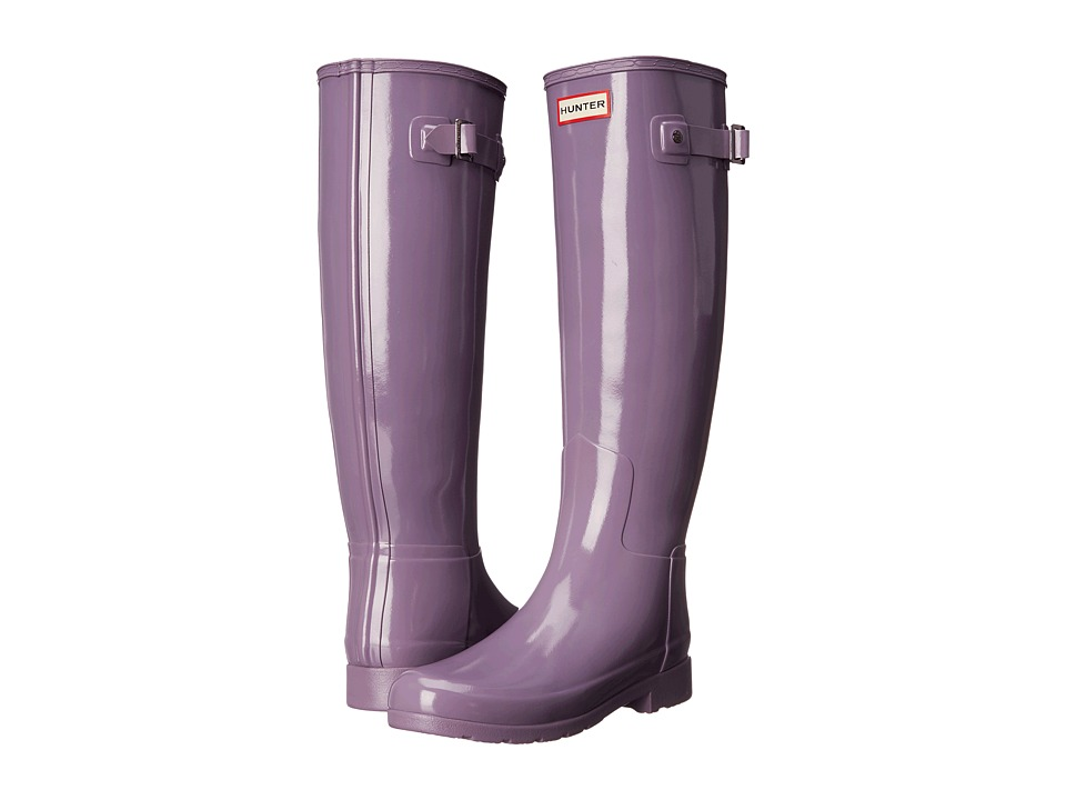 Hunter - Original Refined Gloss (Thundercloud) Women's Rain Boots