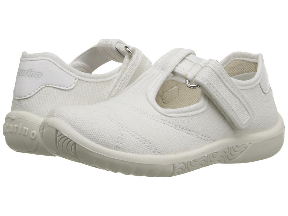 Naturino - Nat. 7742 SS16 (Toddler/Little Kid) (White) Girls Shoes