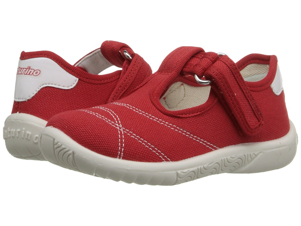 Naturino - Nat. 7742 SS16 (Toddler/Little Kid) (Red) Girls Shoes