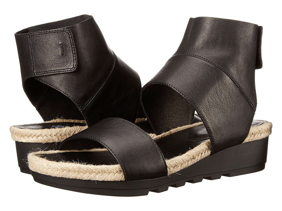 Eileen Fisher - Glad (Black Leather) Women's Sandals