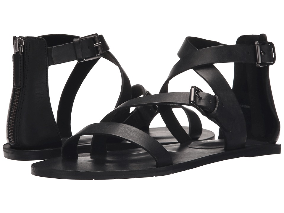Eileen Fisher - Cent (Black Leather) Women's Sandals