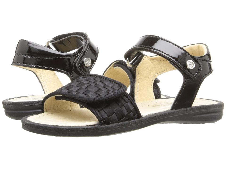 Naturino - Nat. 3957 USA SS16 (Toddler/Little Kid/Big Kid) (Black) Girls Shoes
