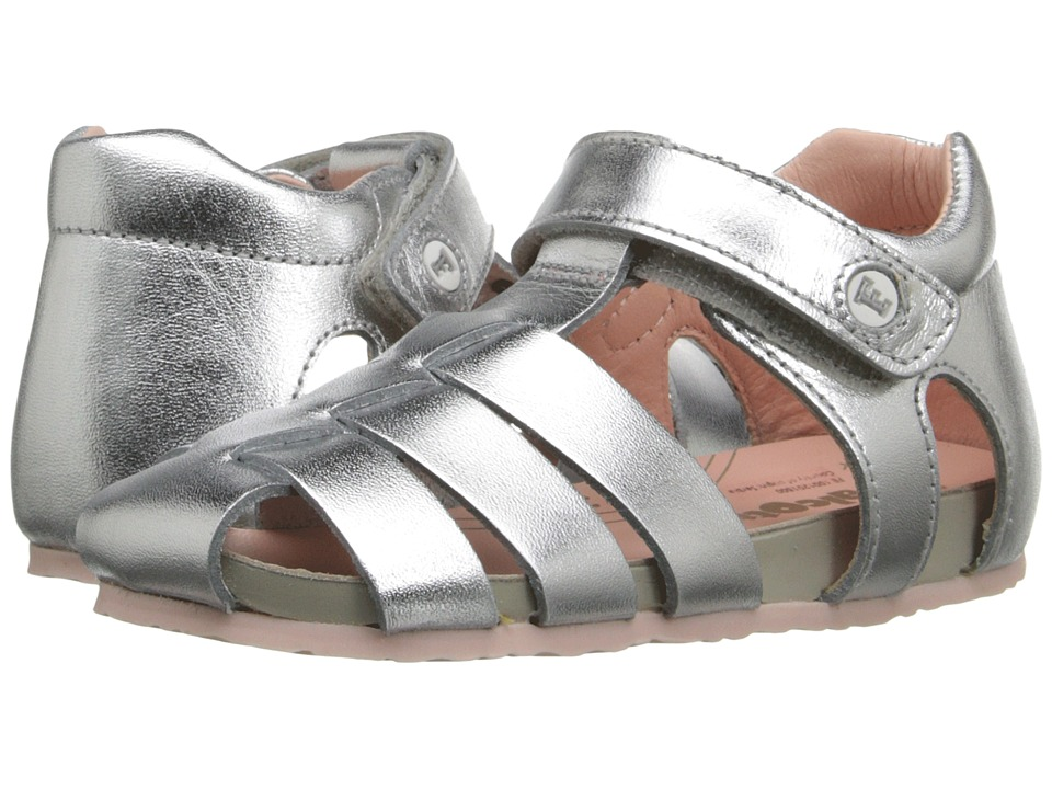 Naturino - Falcotto 1405 SS16 (Toddler) (Silver) Girls Shoes