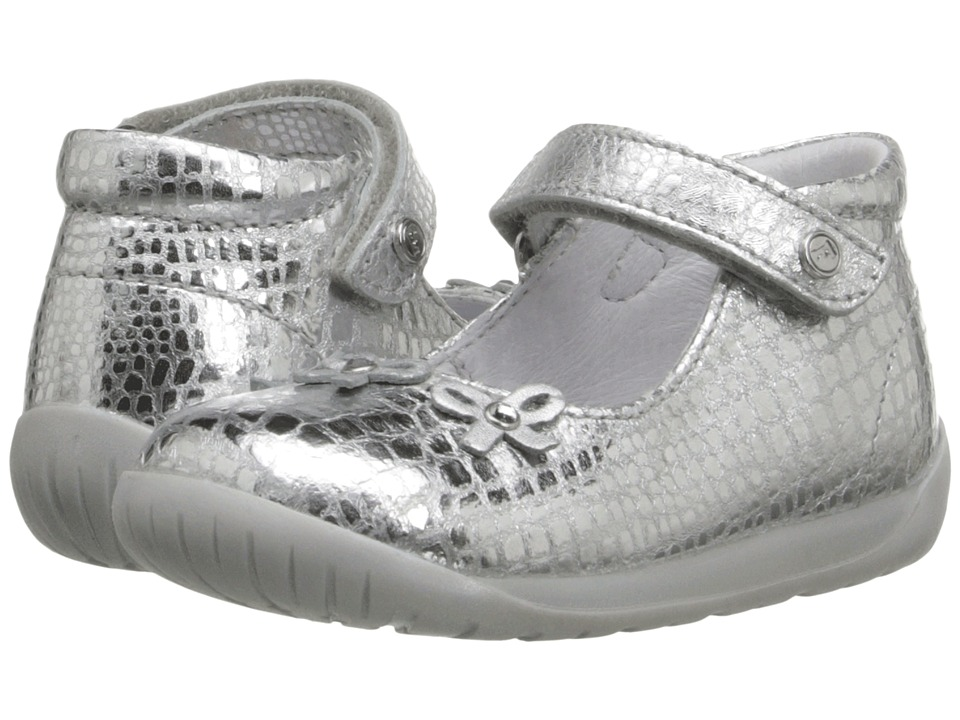 Naturino - Falcotto 1458 SS16 (Toddler) (Silver) Girls Shoes